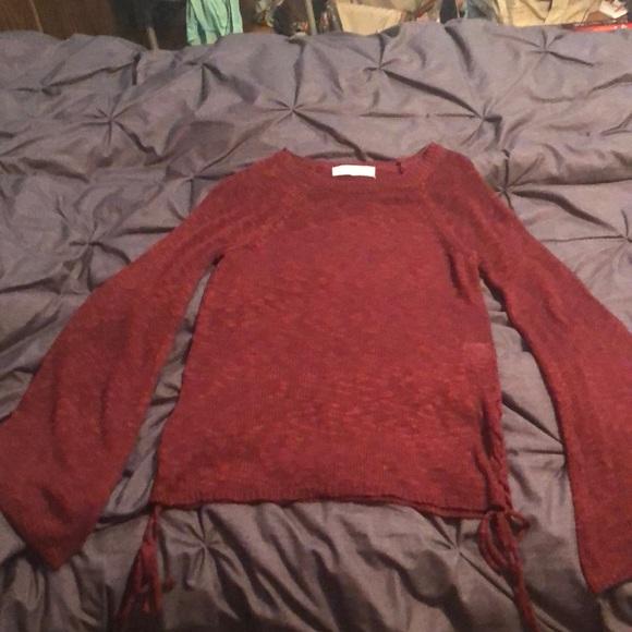 Pink Republic Sweaters - Dark Red Sweater